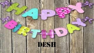 Desh   wishes Mensajes