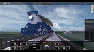 Roblox Rails Unlimited! The Blue Comet Steam Locomotive