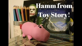 Hamm From Toy Story: DIY Sculpture!
