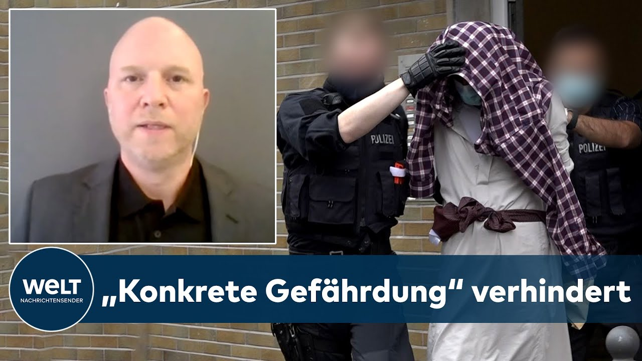 Download TERRORALARM in SYNAGOGE in HAGEN: Sehr ernste Bedrohungslage   WELT INTERVIEW