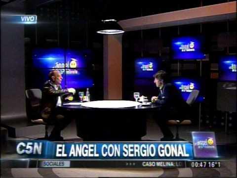 C5N - EL ANGEL DE LA MEDIANOCHE CON SERGIO GONAL (PARTE 2)
