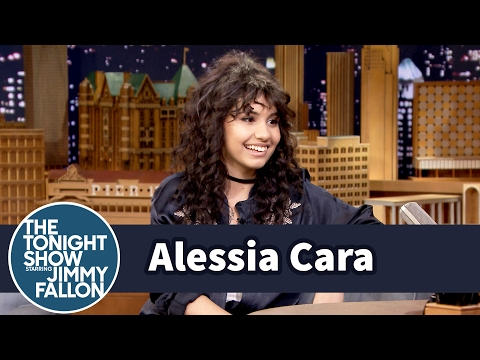 Alessia Cara Predicted She'd Be on The Tonight Show and SNL