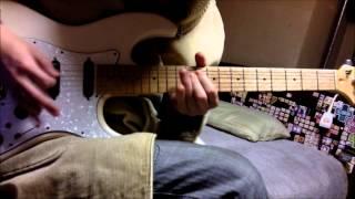 Mirai Nikki [Future Diary] OP 2 - Dead END guitar cover