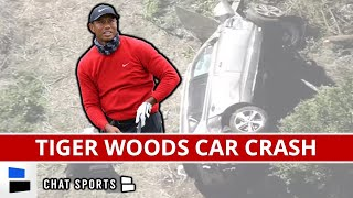 BREAKING: Tiger Woods In Surgery Following Single-Car Roll-Over Crash In Los Angeles