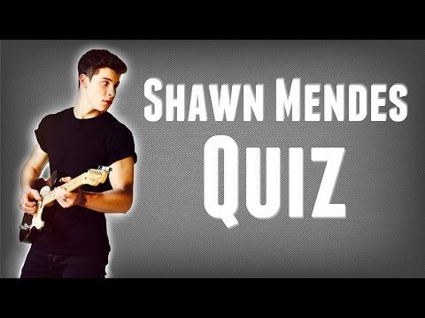 ULTIMATE SHAWN MENDES QUIZ