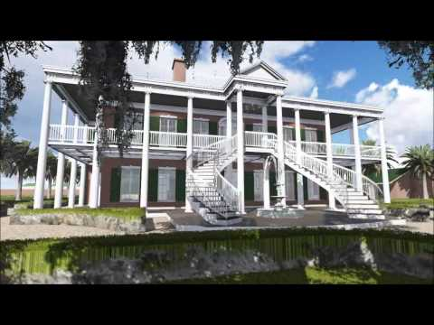 Plantation (Colonial House 3D Flythrough)