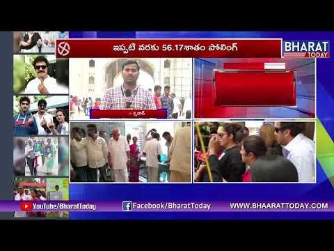 Charminar Live Polling Details | Telangana Elections News | Bharat Today