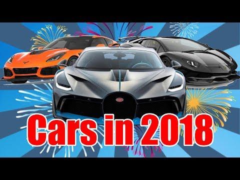 Cars in 2018!