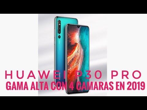 Huawei P30 Pro Filtrado Al Completo - El Gama Alta Con 4 Cámaras En 2019
