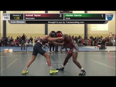 3092 Schoolboy 105 Antrell Taylor Nebraska vs Hunter Garvin Iowa 7861783104