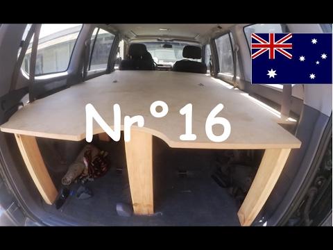 Bett ins Auto bauen  Work and Travel Australien Nr 16