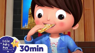 Pizza Song! Food Songs | +More Nursery Rhymes & Kids Songs | ABCs and 123s | Little Baby Bum