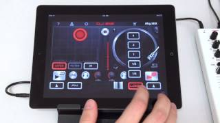 Effects Pads and Looping with DJ Rig The Professional DJ Mixing App for iOS Devices