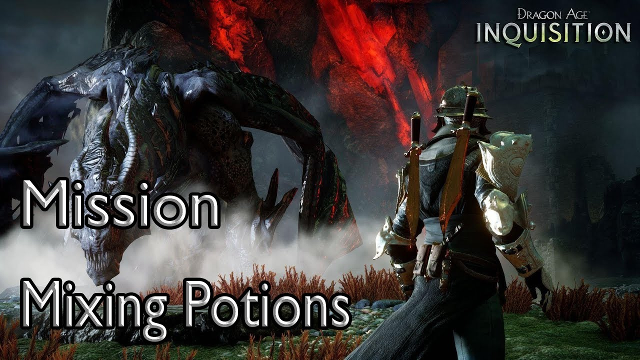 dragon age inquisition mission mixing potions youtube