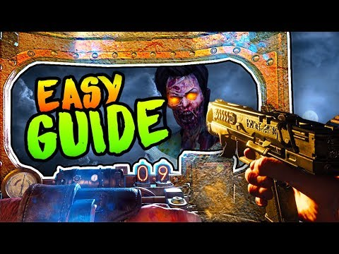 VOYAGE OF DESPAIR: HOW TO BUILD THE SHIELD (*ALL* LOCATIONS EASY SHIELD GUIDE Black Ops 4 Zombies)