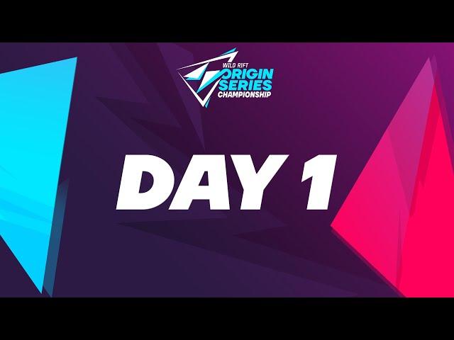 Wild Rift: Origin Series Championship Group Stage