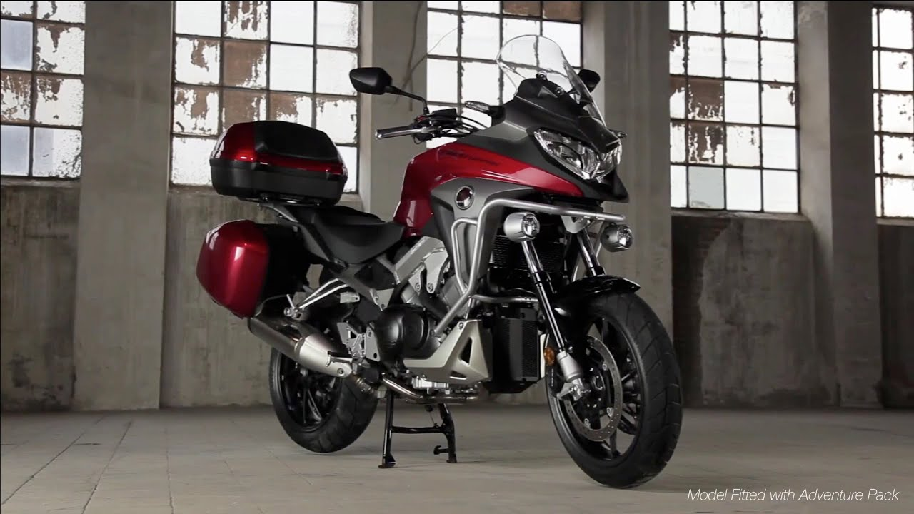Honda VFR800X Crossrunner - Model Features, 2015 official - YouTube