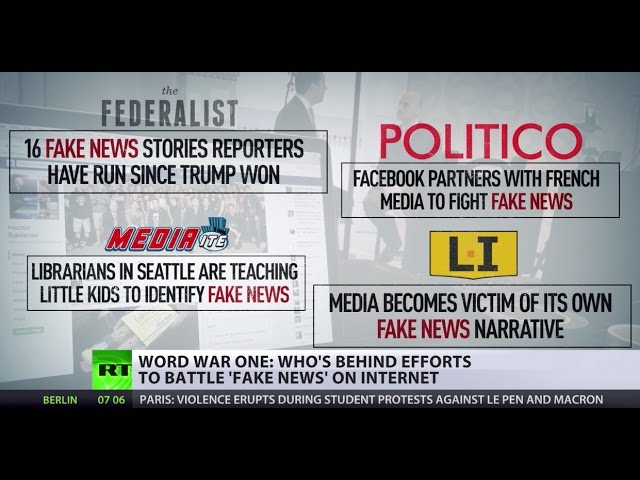 'Fake, real or otherwise': Look behind those claiming to fact-check news