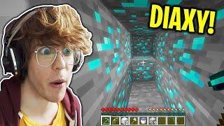 Jak SZYBKO Kopać DIAXY w Minecraft? - Kwadratowa Masakra