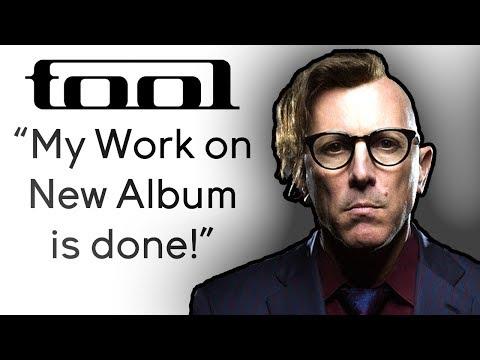 Maynard: My Work on New Tool Album Is Done!