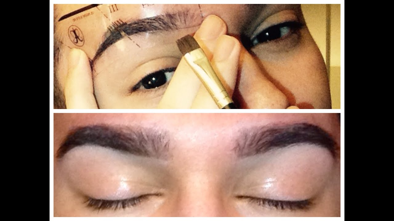 How To Fill In Your Brows With Eyebrow Stencils Anastasia Beverly