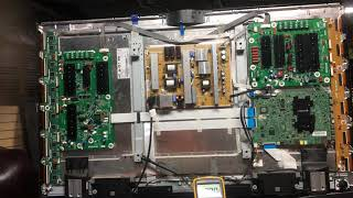 How To Troubleshoot the Samsung PN51F8500 2013 Plasma TV Combination Main Logic Board Part 2.