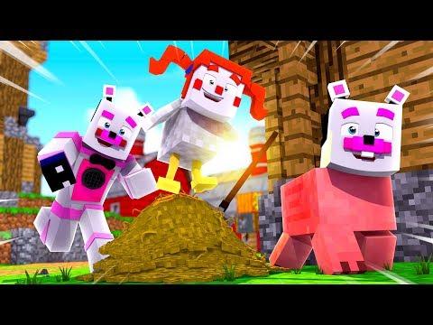 FNAF Farm Hunt ?! | Minecraft FNAF Roleplay