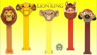 Nat Opens The Lion King Pez Candy Dispensers