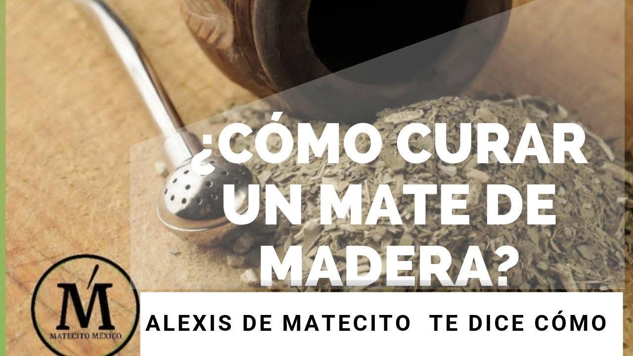 ¿Cómo cuidar el mate de Madera?