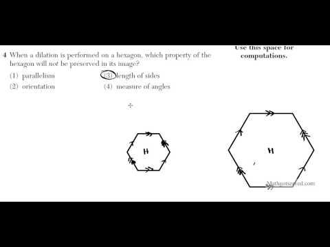 June 2016 Geometry 16 to 20 NYS Common Core Regents