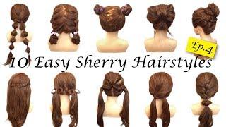 10種簡單快速兒童俏皮可愛小朋友編髮綁法教學10 Simple Quick and Easy Hairstyles of Child ☆ Sherry