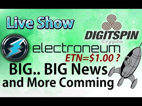 ELECTRONEUM Coin Big Big News and more to come!! LIQUID SISTEMKOIN