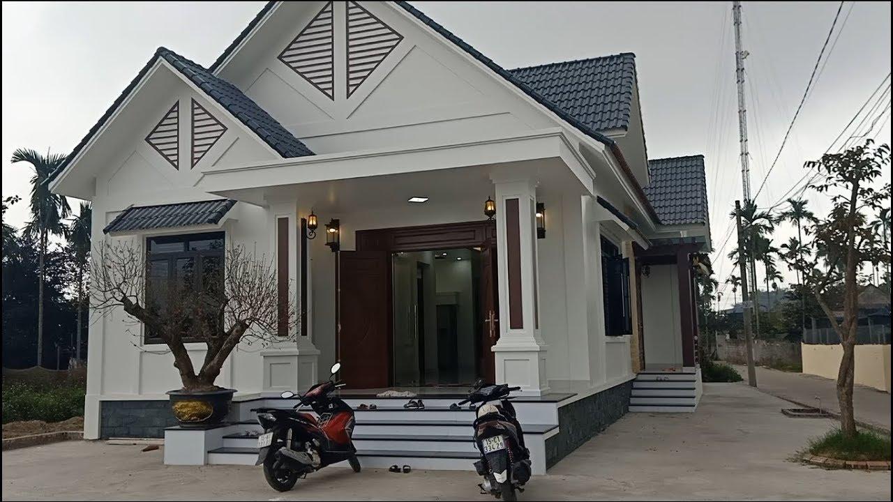 Nhà hai cửa quay theo hai hướng thiết kế theo bản vẽ hà nội phù hợp với xu hướng hiện đại. Nhà đẹp