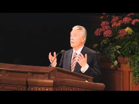 Mormon Apostle Dieter F. Uchtdorf Talks about Mormon Pioneers