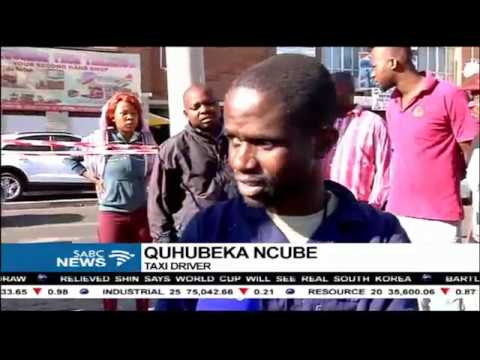 Louis Botha Avenue remains closed following a taxi crash