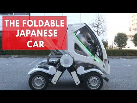 The fold-able Japanese car: 'Earth-1'