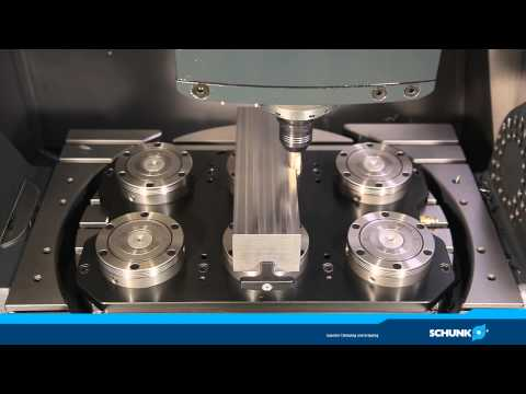 SCHUNK TENDO E compact - with full speed milling!