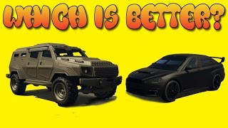 GTA Online Guides - Insurgent VS Kuruma