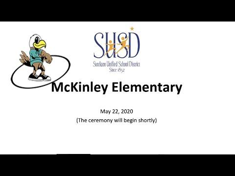 McKinley Elementary School Virtual Promotion Ceremony