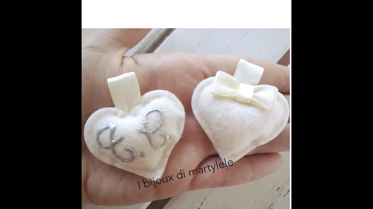 Segnaposti Matrimonio Natalizio : Segnaposti per matrimonio e cuore le fedi youtube