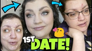 FIRST DATE GET READY & UNREADY WITH ME #5 | Makeup, Outfit, & DATE RECAP!!!