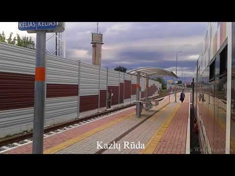 Rail Baltica: Kaunas (Lietuva) - Suwałki (Polska)