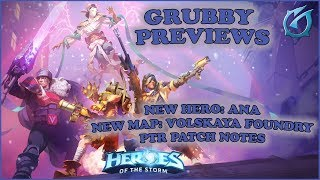 Grubby | Heroes of the Storm 2.0 - New Hero: Ana, New Map and PTR Patch Notes Previewed