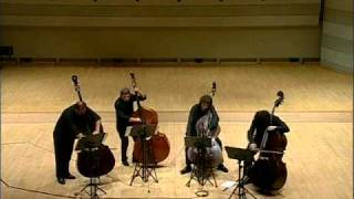 A Night in Tunisia -The Bass Gang - Double Bass Quartet