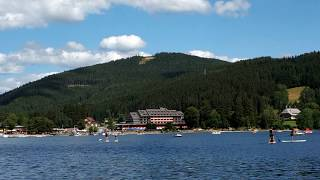 Lake Titisee in the Black Forest, Germany