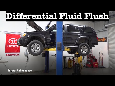 Toyota 4RUNNER rear differential fluid flush
