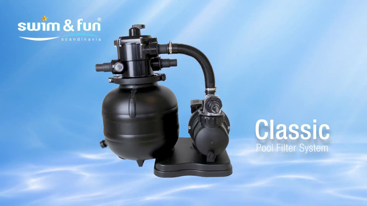 Pool Filterpumpe Welche Classic Pool Filter System By Swim Fun Scandinavia
