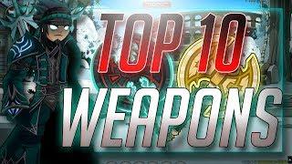 =AQW= TOP 10 WEAPONS