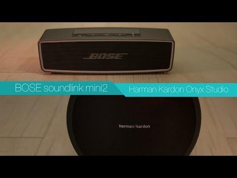 BOSE soundlink mini2 vs Harman Kardon Onyx Studio - Review