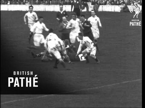 Welsh Win At Twickenham. Rugby (1946)